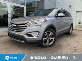 Used 2013 Hyundai Santa Fe XL LIMITED LEATHER PANO ROOF NAV for sale in Edmonton, AB