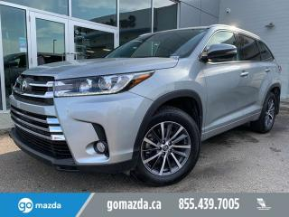 Used 2018 Toyota Highlander XLE AWD LEATHER SUNROOF NAV for sale in Edmonton, AB