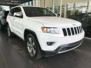 Used 2015 Jeep Grand Cherokee LIMITED, ACCIDENT FREE, POWER HEATED LEATHER SEATS, SUNROOF, NAVI for sale in Edmonton, AB
