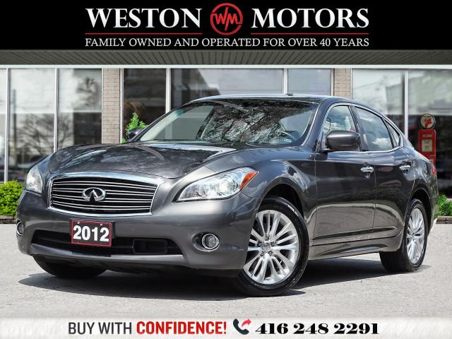 2012 Infiniti M37 X*SUNROOF*LEATHER*NAVI*REV CAM*LANE ASST!!*