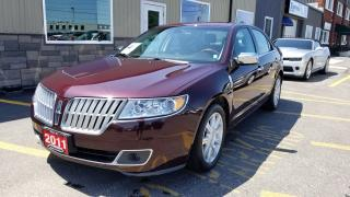 Used 2011 Lincoln MKZ NAVIGATION-HEATED/COOLED SEATS-LOADED for sale in Tilbury, ON
