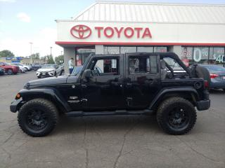 Used 2009 Jeep Wrangler Sahara limited with mudders auto Ac for sale in Cambridge, ON