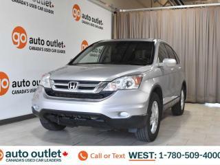 Used 2010 Honda CR-V Exl, 2.4L I4, 4wd, Leather seats, Heated seats, Sunroof for sale in Edmonton, AB