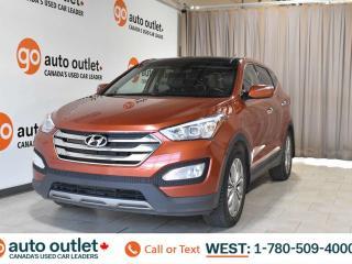 Used 2013 Hyundai Santa Fe Limited, Awd, 2.0L I4, Turbo, Leather seats, Navigation, Heated/Cooled seats, Heated steering wheel, Backup camera, Sunroof/Moonroof, Bluetooth for sale in Edmonton, AB