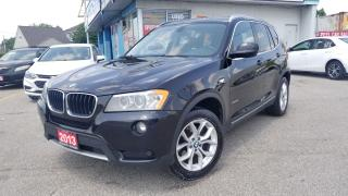Used 2013 BMW X3 28i Xdrive - Panoramic Roof, Loaded for sale in Mississauga, ON