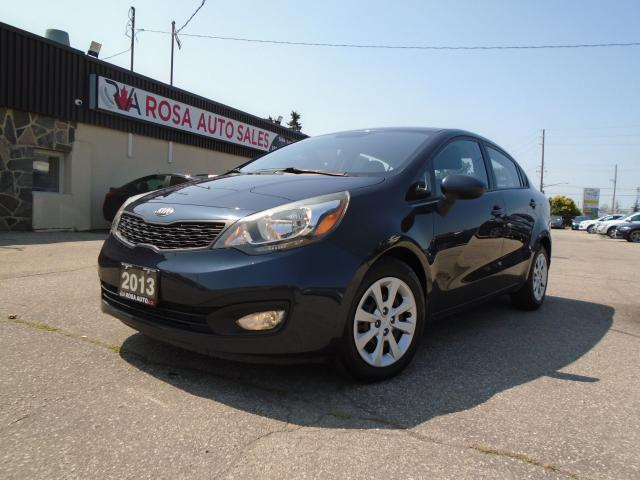 2013 Kia Rio AUTO SAFETY A/C PW PL PL  B-TOOTH I-POD HEATED SEA