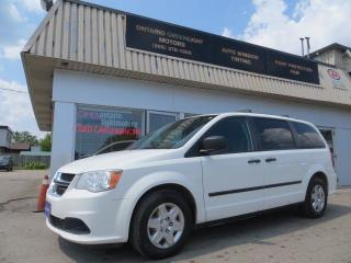 2013 Dodge Grand Caravan 7 Passengers, Stow&go, roof racks, CERTIFIED