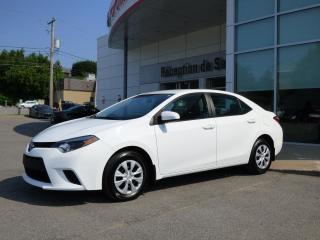 Used 2015 Toyota Corolla CE - Manuelle - Port USB for sale in Trois-Rivières, QC