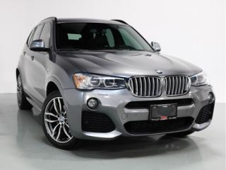 Used 2016 BMW X3 xDrive28i   M-SPORT    NAVI   PANO   CAM for sale in Vaughan, ON
