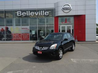 Used 2013 Nissan Rogue S FWD 1 OWNER LOCAL TRADE for sale in Belleville, ON