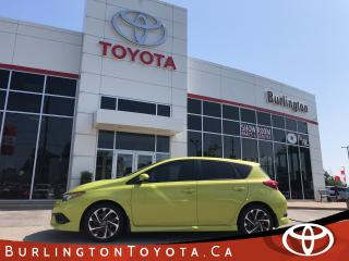 Used 2017 Toyota Corolla iM HATCH ONE OWNER for sale in Burlington, ON