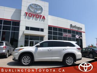 Used 2015 Toyota Highlander LE ALL WHEEL DRIVE for sale in Burlington, ON