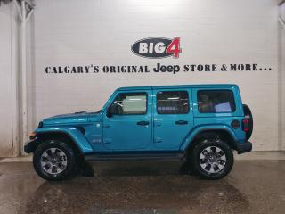 New 2019 Jeep Wrangler SAHARA 4X4 for sale in Calgary, AB