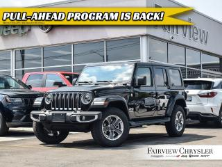 New 2019 Jeep Wrangler Unlimited Sahara for sale in Burlington, ON