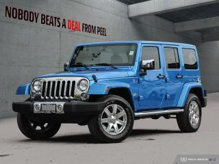 Used 2015 Jeep Wrangler Unlimited Sahara*Rem Start*Dual Top*Mopar Chrome* for sale in Mississauga, ON