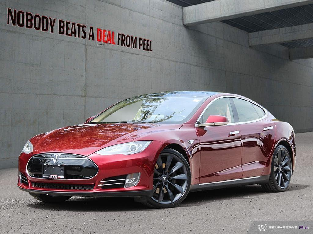 Used 2012 Tesla Model S P85 Signature, NEW EV Tires, Roof