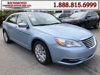 Used 2013 Chrysler 200 LX for sale in Richmond, BC