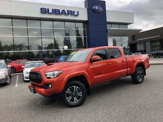 Used 2017 Toyota Tacoma TRD SPORT SR5 V6 - 48,000KM for sale in Port Coquitlam, BC