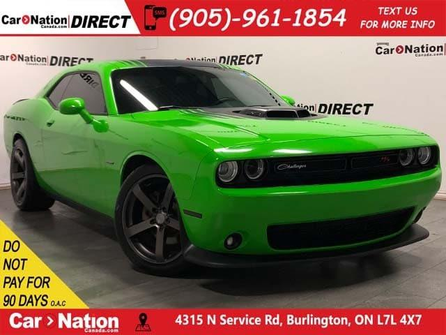 Challenger Shaker For Sale >> Used 2017 Dodge Challenger R T Shaker Local Trade 6 Speed