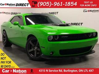 Used 2017 Dodge Challenger R/T Shaker| LOCAL TRADE| 6-SPEED| for sale in Burlington, ON