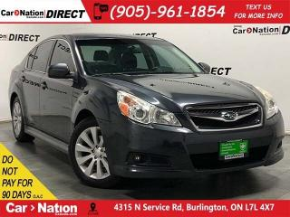 Used 2011 Subaru Legacy 2.5i Sport Package| SUNROOF| AWD| AS-TRADED| for sale in Burlington, ON