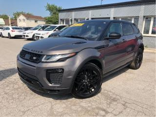 Used 2016 Land Rover Evoque HSE Dynamic | Black Design| InControl Pack| Loaded for sale in St Catharines, ON