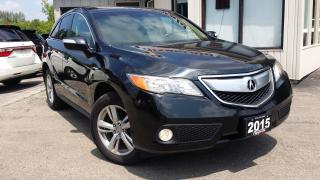 Used 2015 Acura RDX Technology Package - AWD! NAVIGATION! BACK-UP CAM! for sale in Kitchener, ON