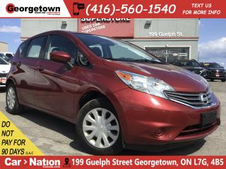 Used 2016 Nissan Versa Note 1.6 SV | BACK UP CAM | XM RADIO | A/C | for sale in Georgetown, ON