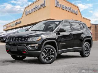 New 2019 Jeep Compass Trailhawk  - Leather Seats - Heated Seats - $217 B/W for sale in Brantford, ON