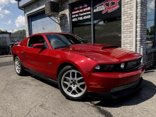 Used 2011 Ford Mustang Coupé 2 portes - GT 5.0L **MANUAL 6 SPEE for sale in Longueuil, QC