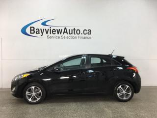 Used 2016 Hyundai Elantra GT GLS - 6SPD! BLACK BEAUTY! PANOROOF! ALLOYS! PWR GROUP! for sale in Belleville, ON