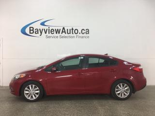Used 2015 Kia Forte 1.8L LX+ - ONLY 32,000KMS! AUTO! A/C! ALLOYS! FULL PWR GROUP for sale in Belleville, ON