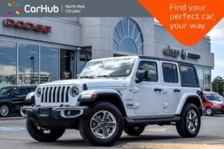 New 2019 Jeep Wrangler Unlimited Sahara|New Car|4x4|Tech,Cold.Wthr,LED,Alpine.PremAudio.Pkgs| for sale in Thornhill, ON