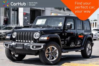 New 2019 Jeep Wrangler Unlimited Sahara|New Car|4x4|Tech,Cold.Wthr,Prem.Audio.Pkgs|Bluetooth| for sale in Thornhill, ON