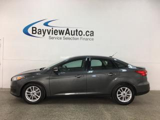 Used 2015 Ford Focus - AUTO! HEATED SEATS! SYNC! ALLOYS! ONLY 38,000KMS! for sale in Belleville, ON