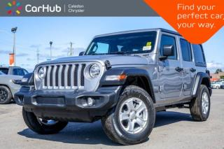 New 2019 Jeep Wrangler Unlimited New Car Sport S|4x4|Hard Top|Backup Cam|Bluetooth|Heated Front Seats|R-Start|17
