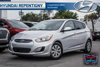 Used 2016 Hyundai Accent GL 5 PORTES**A/C, DÉMARREUR À DISTANCE** for sale in Repentigny, QC