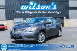 Used 2015 Nissan Sentra SV - Bluetooth, Heated Seats, Rear Camera, Push Start, Cruise Control, Keyless Entry and more! for sale in Guelph, ON