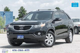 Used 2012 Kia Sorento V6 POWER CERTIFIED SERVICED VERY CLEAN WE FINANCE for sale in Bolton, ON