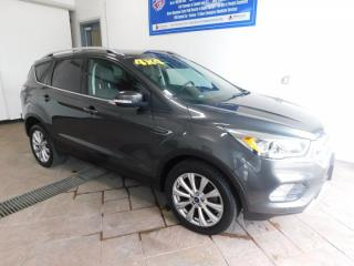 Used 2017 Ford Escape Titanium *4WD* LEATHER NAVI SUNROOF for sale in Listowel, ON