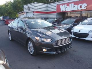 Used 2015 Ford Fusion SE AWD Sunroof Leather Interior for sale in Ottawa, ON