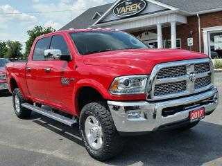 Used 2017 RAM 2500 Power Wagon 4x4, Laramie, Sunroof, RAMBOX, Heated/Vented Leather Seats, NAV, Remote Start for sale in Paris, ON