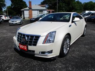 Used 2012 Cadillac CTS LOADED PREMIUM MODEL 4 PASSENGER 3.6L- V6.. LEATHER.. HEATED/COOLED SEATS.. POWER SUNROOF.. REMOTE START.. for sale in Bradford, ON