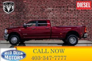 Used 2019 RAM 3500 4x4 Crew Cab Laramie Dually Diesel for sale in Red Deer, AB