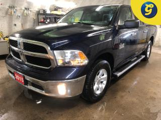 Used 2015 RAM 1500 SLT * CrewCab * 4X4 * V6 * Navigation * Rear power sliding window * Sprayed bedliner * Locking tailgate * Tonneau cover * Power drivers seat *  *17 In for sale in Cambridge, ON