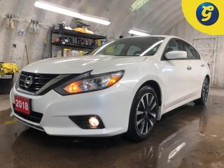 Used 2018 Nissan Altima SV * Sunroof * Remote start * Blind spot assist * Emergency braking system * Nissan connect screen * Back up camera * Heated front seats/Steering whee for sale in Cambridge, ON