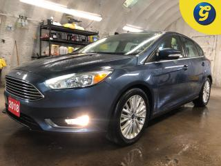 Used 2018 Ford Focus Titanium * Sunroof * Leather * Rear parking aid with reverse camera * Lane keeping system * Remote start * Auto headlights with fog lights * SYNC touc for sale in Cambridge, ON