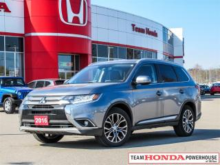 Used 2016 Mitsubishi Outlander GT with S-AWC       ****FULLY LOADED S-AWC AND A HEAVY THUMPING ROCKFORD FOSGATE SOUND**** for sale in Milton, ON