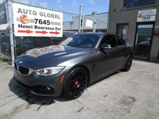 Used 2014 BMW 4 Series 428I XDRIVE XDRIVE 2.0L Twin Turbo NAVIG for sale in Montréal, QC