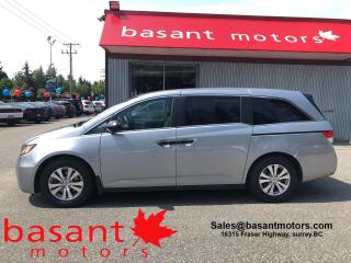 Used 2016 Honda Odyssey SE, Backup Camera, Alloy Wheels, Low KMs! for sale in Surrey, BC